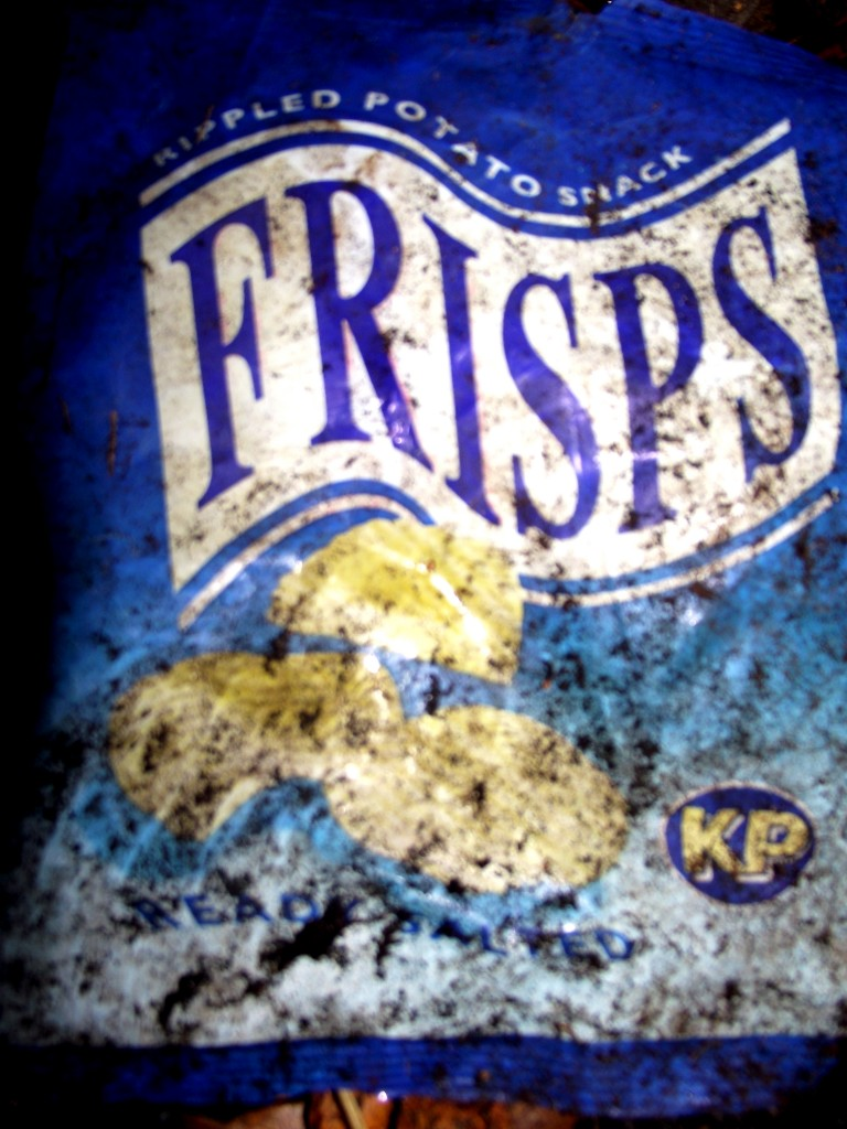 Vintage Frisps packet