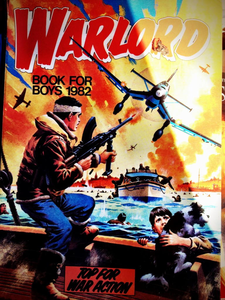 Warlord book for boys 1982.