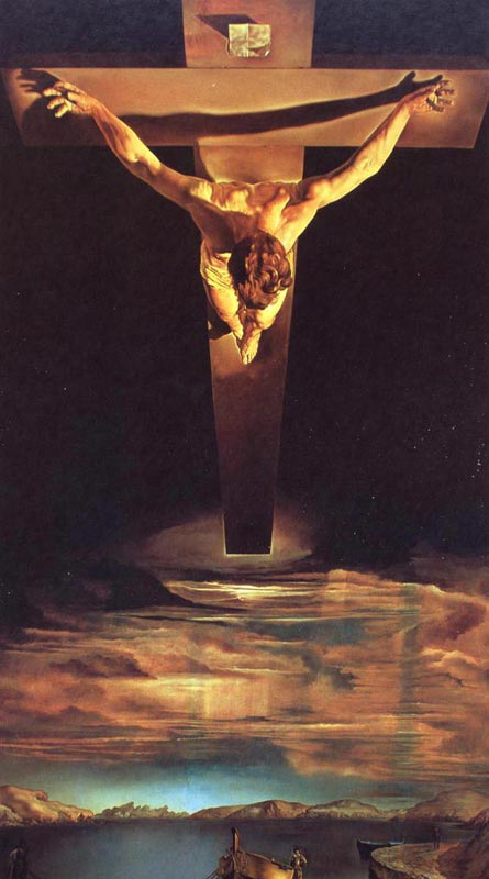 dali-christ of saint john on the cross